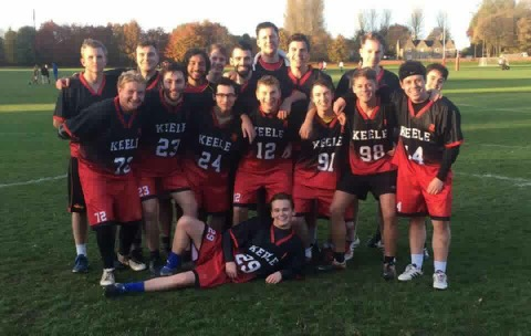 Keele University Team Photo ArchLevel Lacrosse